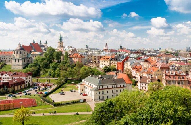 Sufitity napinane w Lublinie