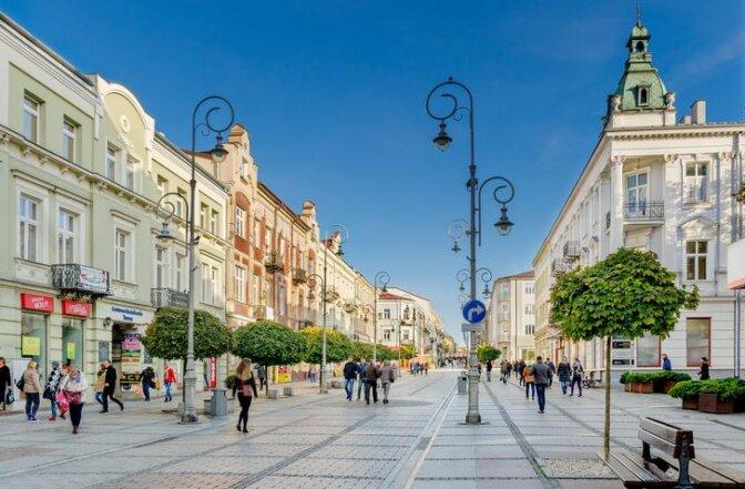 Sufity napinane w Kielcach
